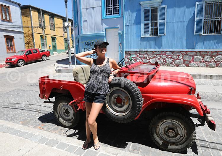Prendre la pose, Valparaiso