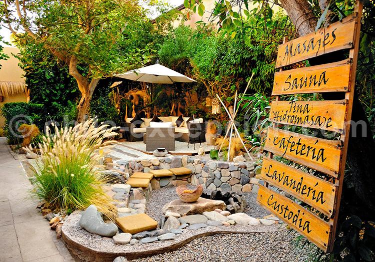 Hôtel Tierra Diaguita, Jardin