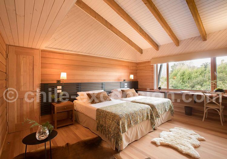 Lodge Futangue, Chambre twin