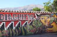 Street-Art honorant la civilisation Diaguitas
