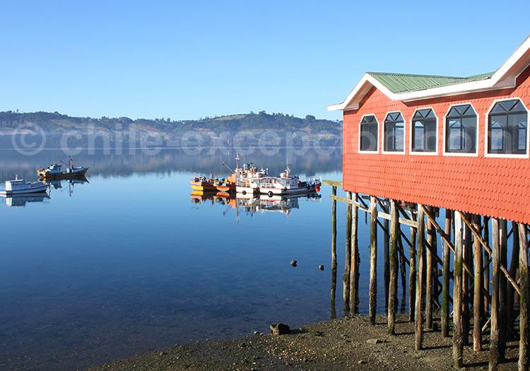 Castro, ville de Chiloé, Chili