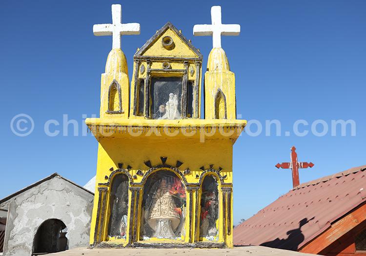 Monument funéraire du cimetière de Cerrillos de Tamaya