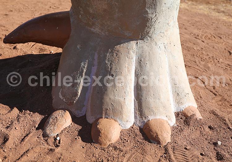 Site archéologique au Chili