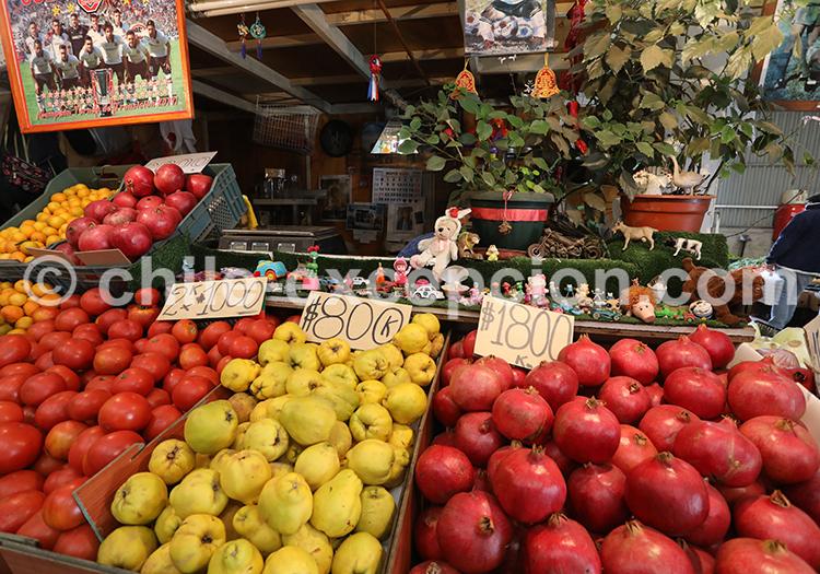 Stands de légumes, Feria Modelo de Ovalle, Chili