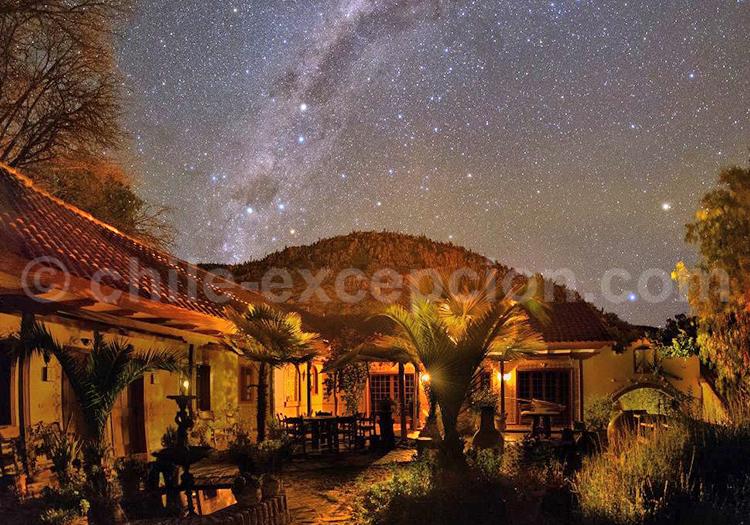 Hacienda los Andes de nuit, Ovalle