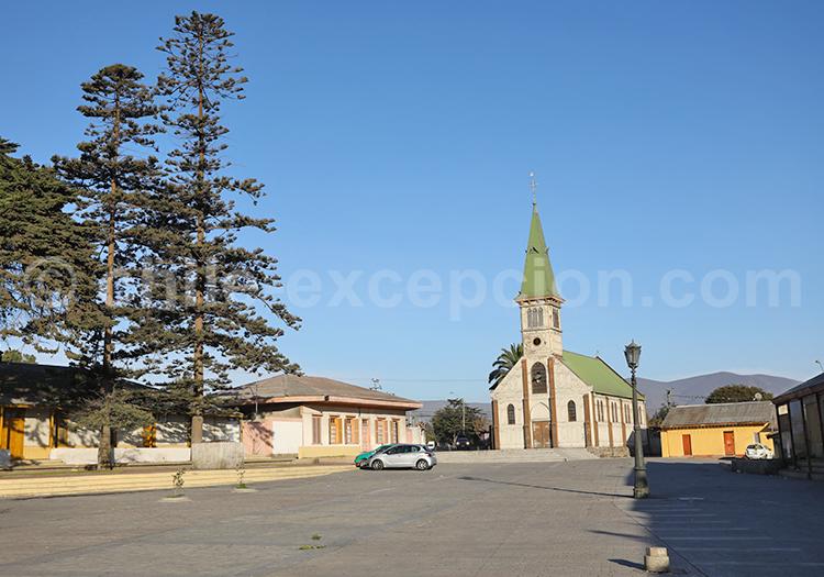 Église de Guayacán, alentours de la Serena