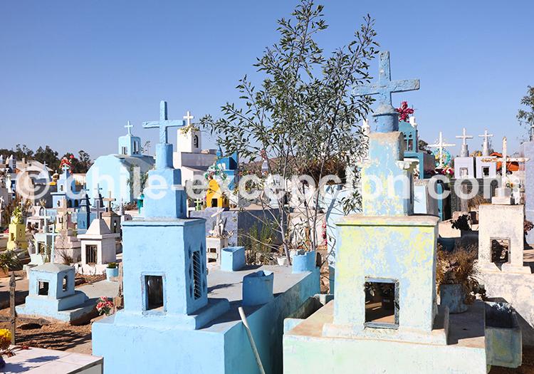 Cimetière de Cerrillos de Tamaya, Ovalle