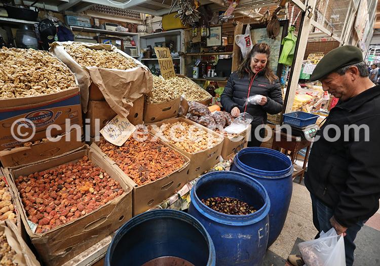 Marché traditionnel Modelo de Ovalle, Chili