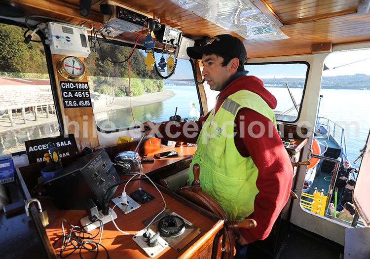 Voyage sur la grande île de Chiloé, Chili
