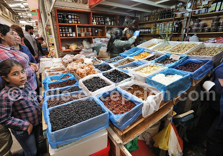 Fruto seco, Feria Modelo de Ovalle, Chili