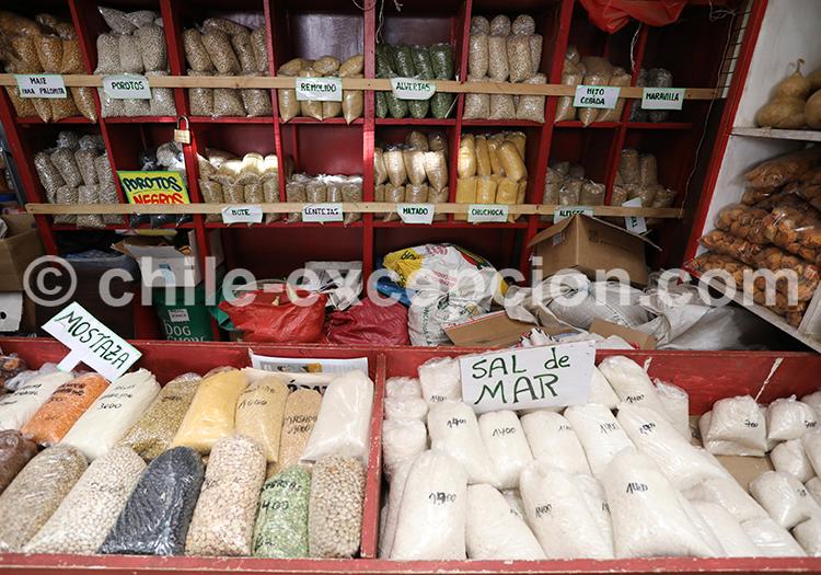 Produits du terroir, Feria Modelo de Ovalle, Chili