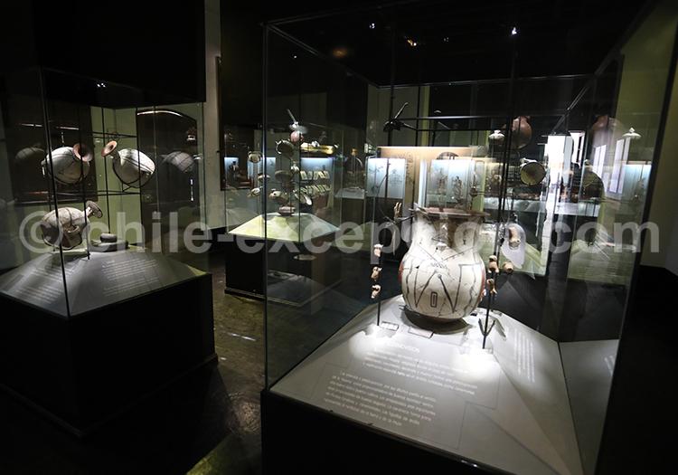 Musée del Limarí, pièces archéologiques