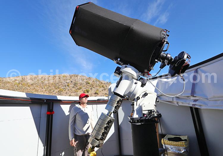 Tour astronomique, Hacienda Los Andes