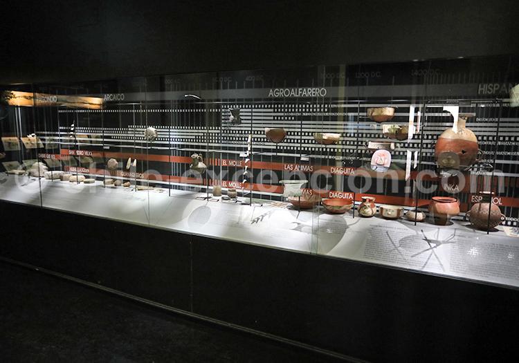 Musée del Limarí, pièces de céramique
