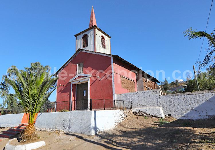 Église de de Huamalata, Ovalle, Chili