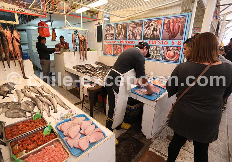 Visiter le marché de Coquimbo