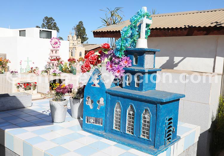 Visite libre du cimetière de Cerrillos de Tamaya