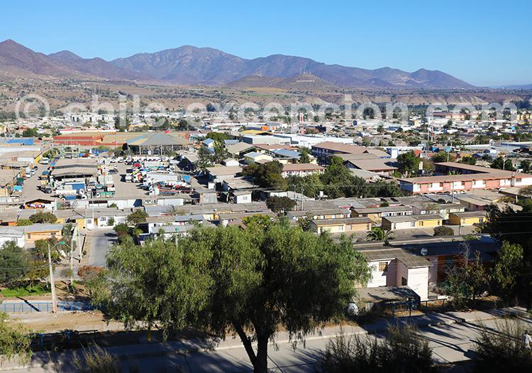 Ovalle, vallée de Limari