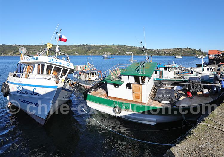 Dalcahue, Chiloé, région des lacs