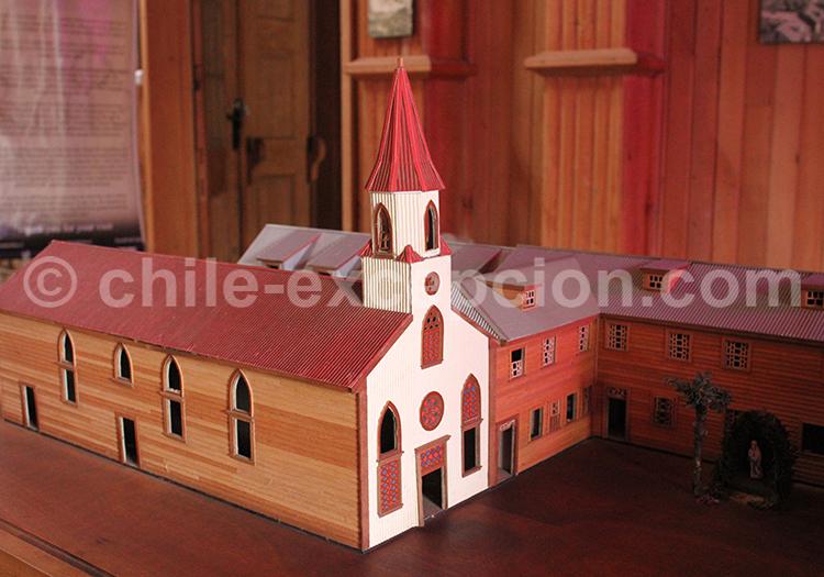 Maquette de l'église
