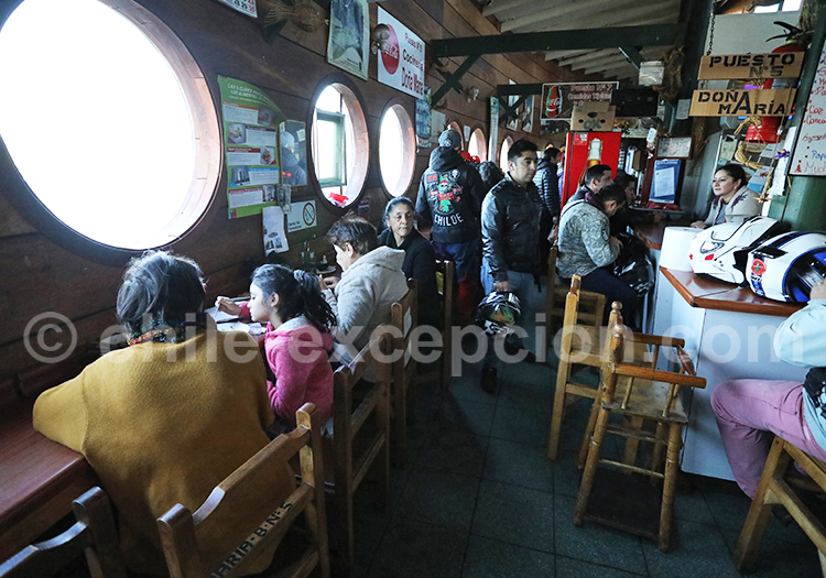 Cocinería Dalcahue, Chiloé