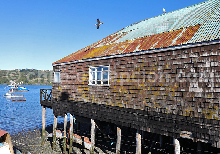 Dalcahue, Chiloé, Sud du Chili