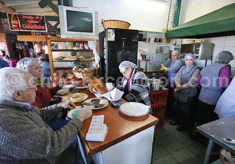 Cocinería Dalcahue, Sud du Chili