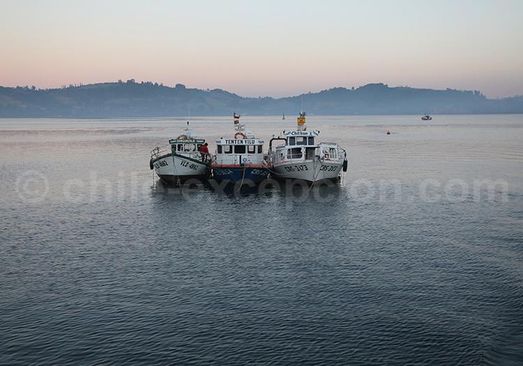 Navigation sur l'île de Chiloé