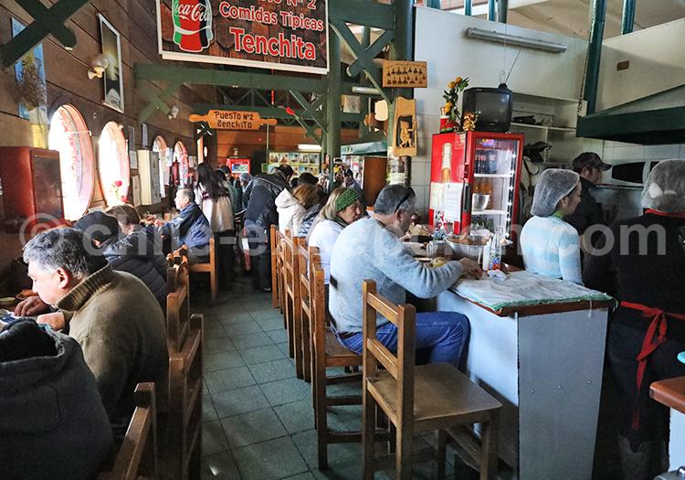 Cocinería Dalcahue, région des lacs, Chili