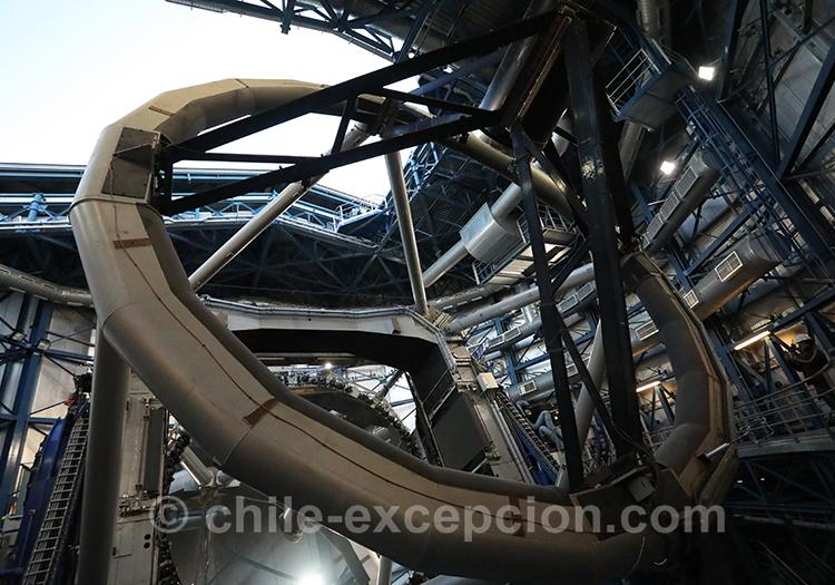 Coulisses de l'observatoire Cerro Paranal, Chili