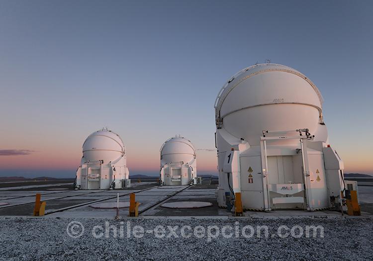 Excursion de luxe, tour astronomique dans le désert d'Atacama, Chili
