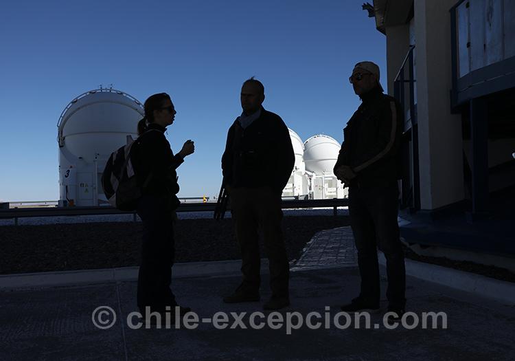 Excursion dans le désert d'Atacama, tour astronomique