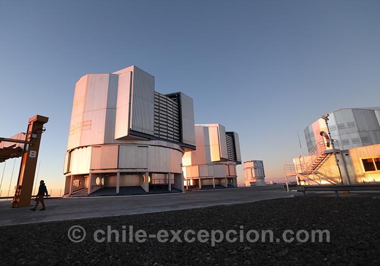 Circuit autotour, observer le ciel, désert d'Atacama, Chili