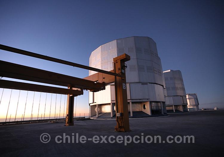 Conditions d'observation des étoiles, désert d'Atacama