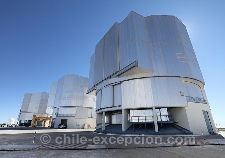 Tour astronomique, Cerro Paranal, Antofagasta