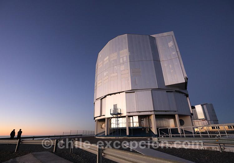 Voyage avec guide, tour astronomique, Cerro Paranal, Nord du Chili