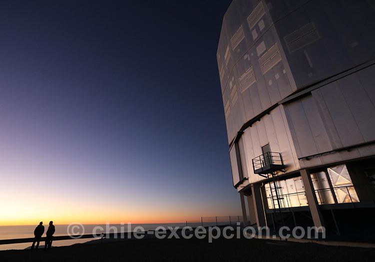 Passion astronomie, observatoire Cerro Paranal, VLT, Nord du Chili