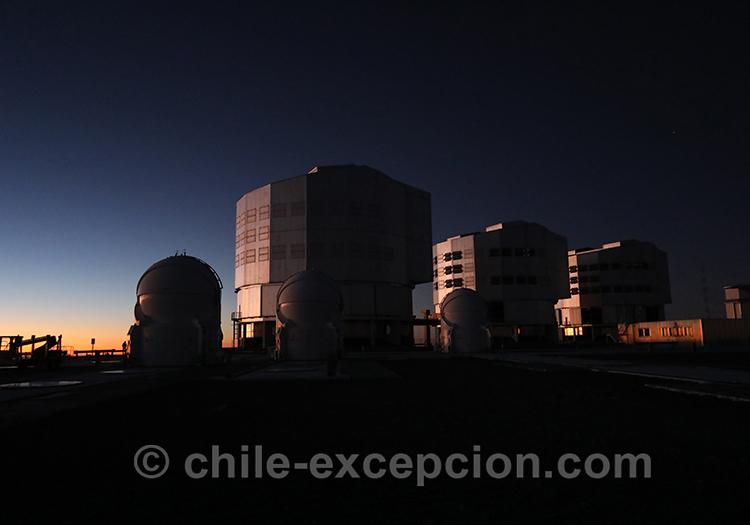Observer les étoiles dans le VLT Cerro Paranal, Nord du Chili