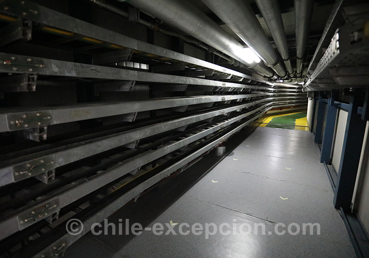 Intérieur de l'observatoire Paranal, Chile