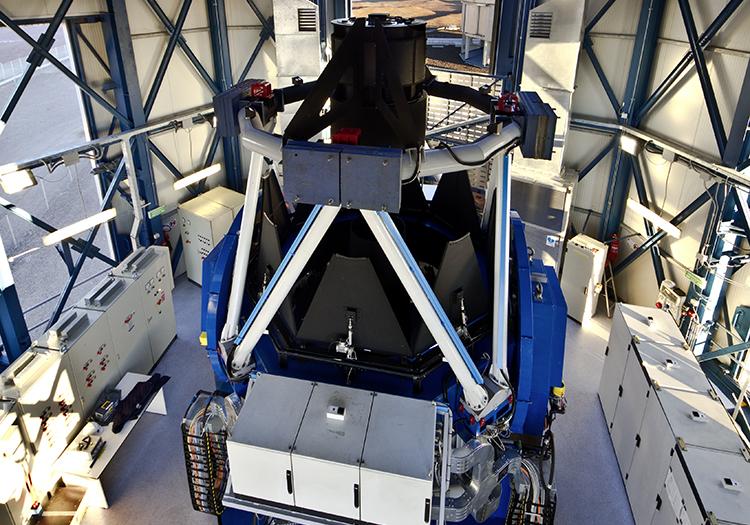 Observatoire Cerro Paranal - Crédit ESOG Lombardi