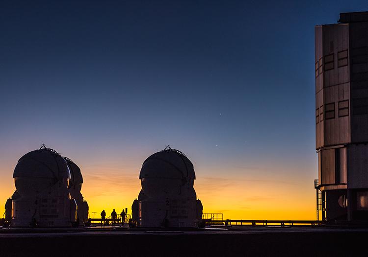 Observatoire Cerro Paranal - Crédit ESOG Brammer