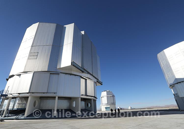 Observatoire européen austral, Chili