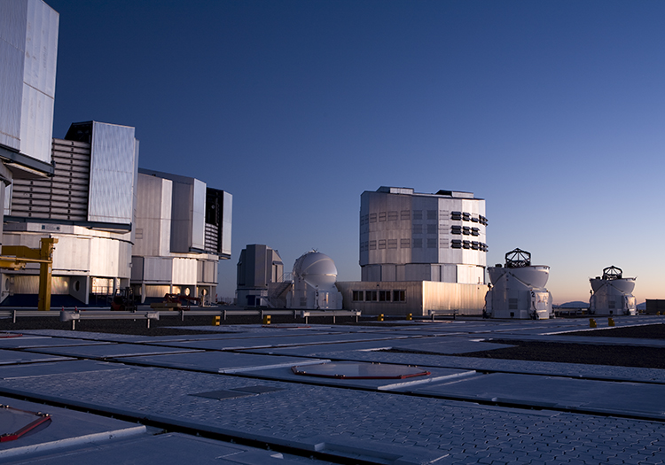 Observatoire Cerro Paranal - Crédit ESOH H. Heyer