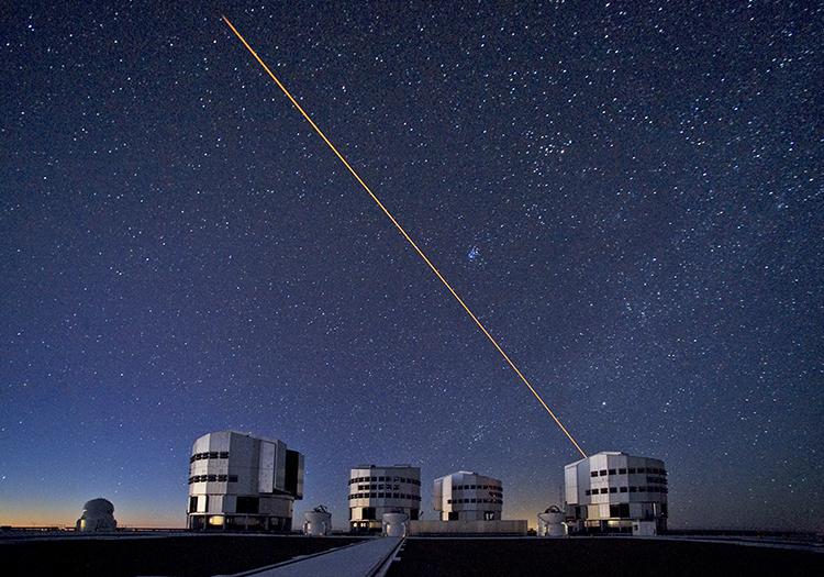 Observatoire Cerro Paranal - Crédit ESOS Brunier