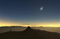 Eclipse La Silla – M. Druckmüller, P. Aniol, K. Delcourte, P. Horálek, L. Calçada/ESO