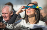 Observation éclipse – ESO/L. Calçada