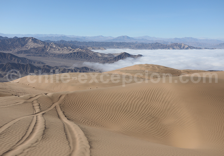 Voyage, dunes de Copiapo, Chili