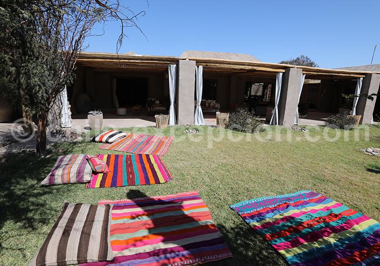 Agence de voyage et hotel au Chili