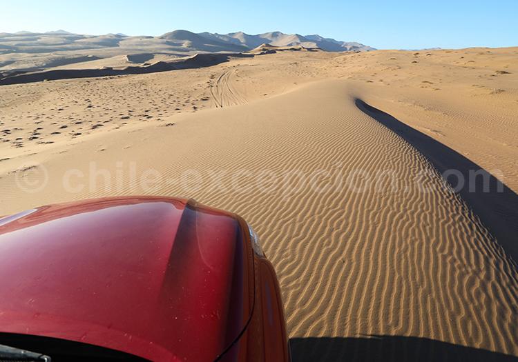 Sable, dunes de Copiapo, Chili