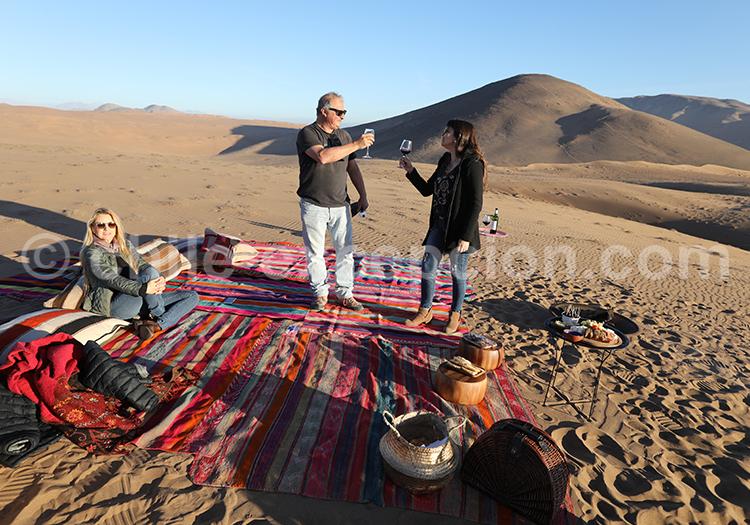 Tour organisé dans les dunes de Copiapó au Chili